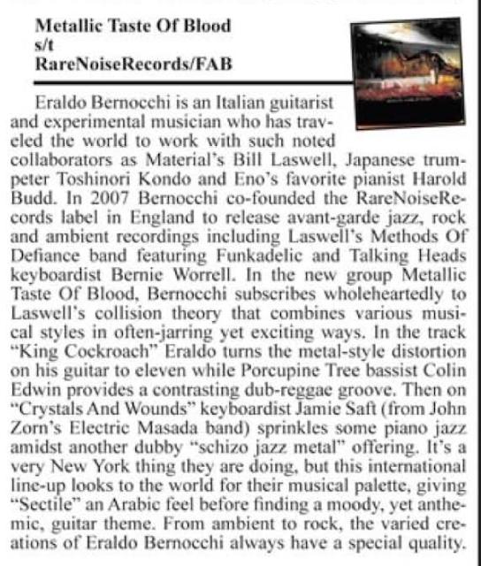 Metallic Taste of Blood Reviews (Part 2) 3