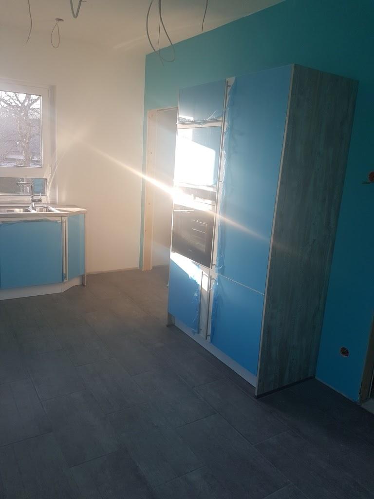 wir bauen mit massa haus der erste raum ist fertig. Black Bedroom Furniture Sets. Home Design Ideas