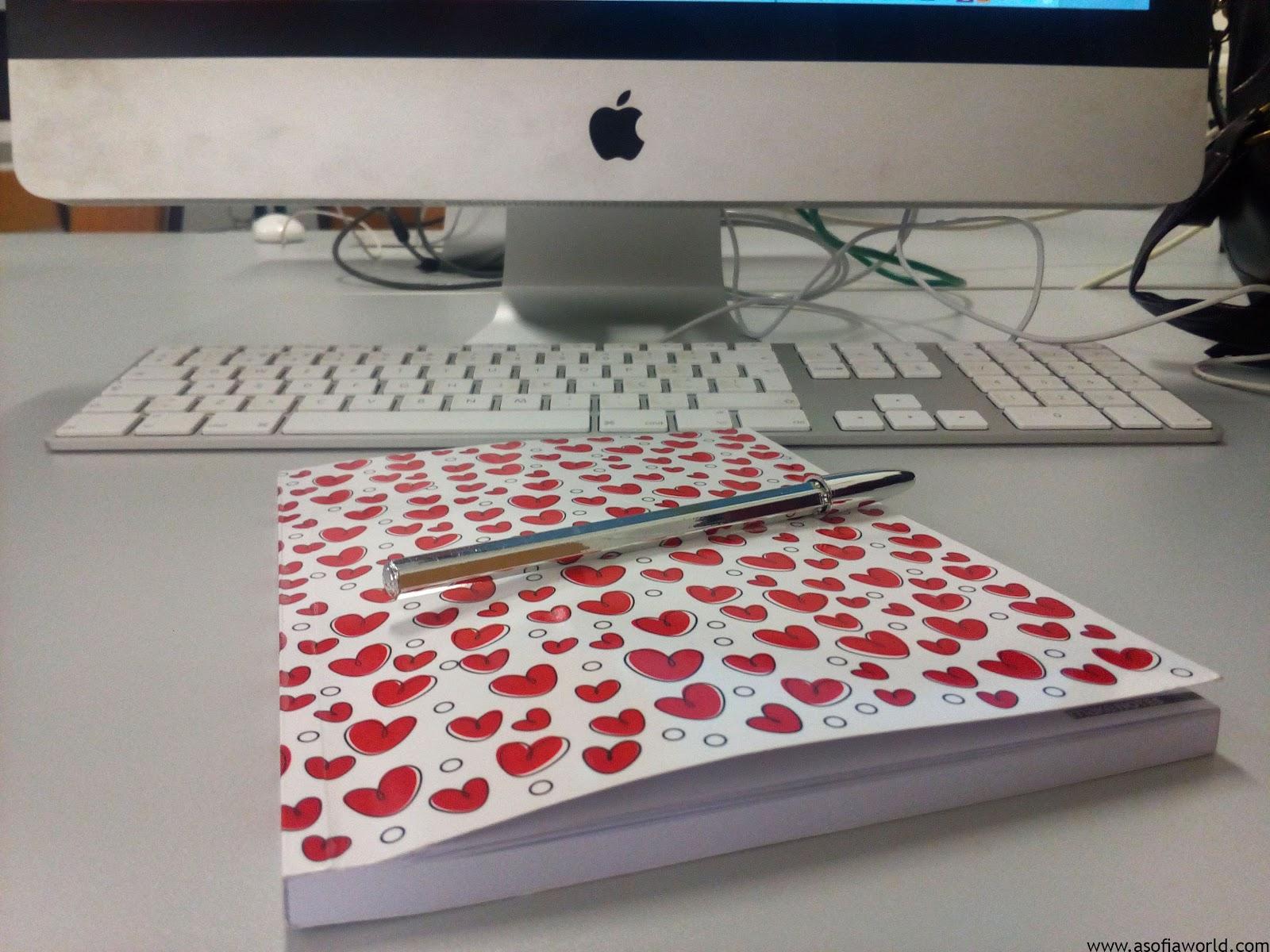 iMac and writting stuff