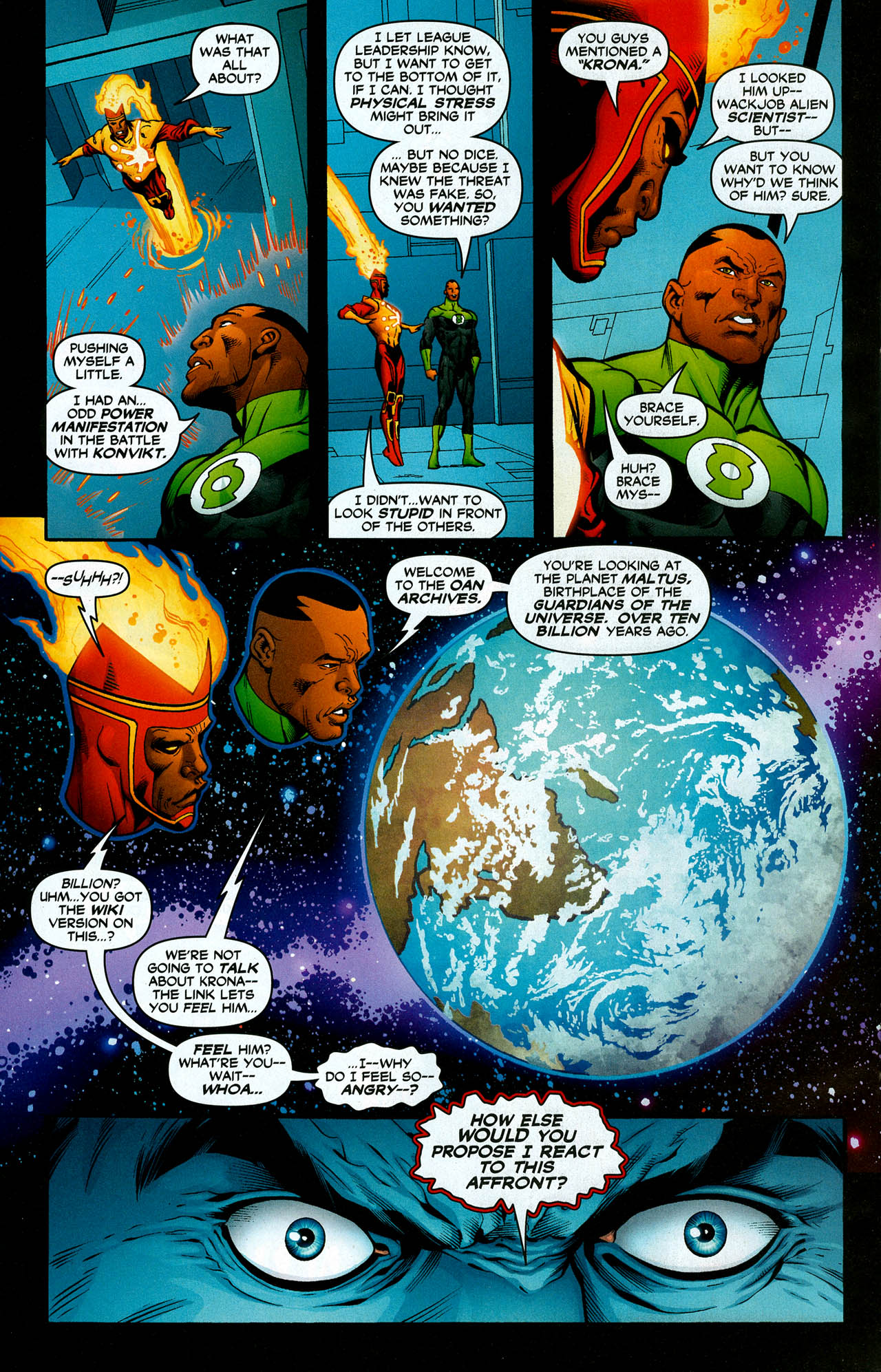 Read online Trinity (2008) comic -  Issue #7 - 22
