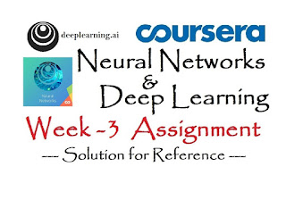 Coursera: Neural Networks and Deep Learning (Week 3) [Assignment Solution] - deeplearning.ai | APDaga | DumpBox