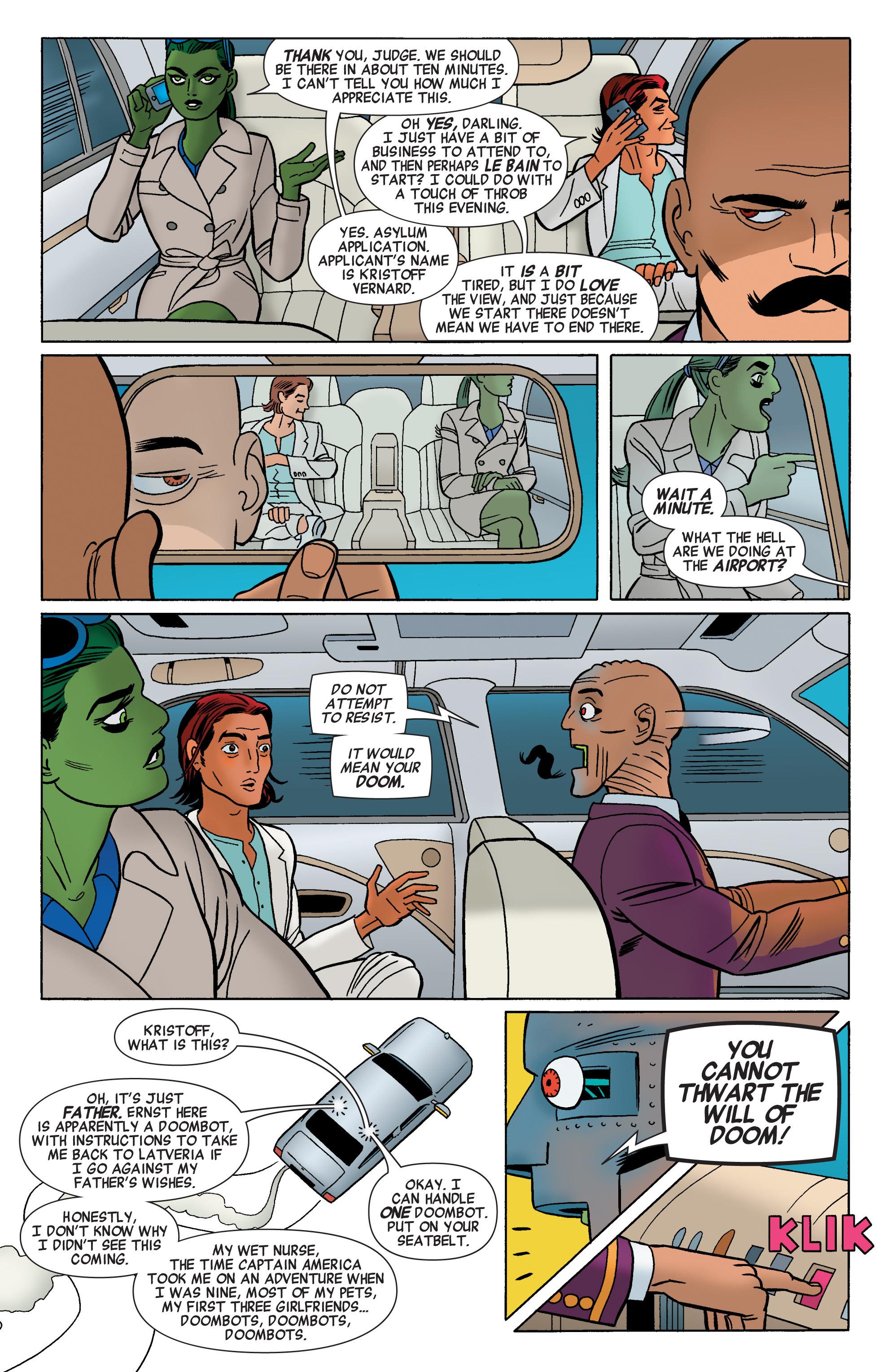 Read online She-Hulk (2014) comic -  Issue #3 - 8
