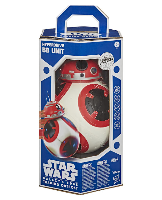 Hasbro's Hyperdrive BB Unit Star Wars Galaxy's Edge Target Merchandise