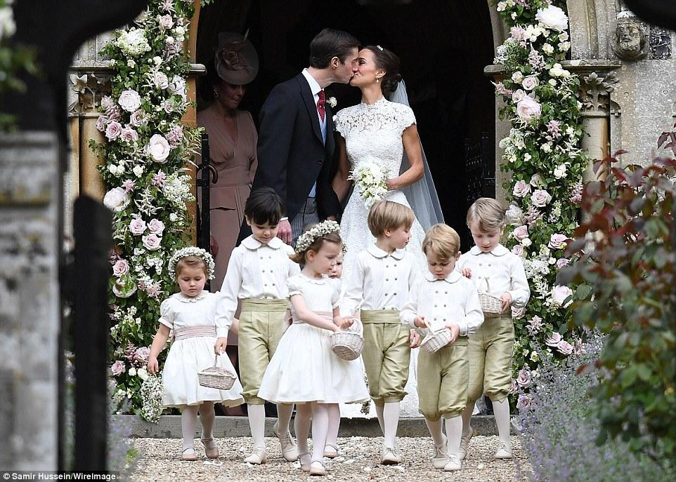 Lub pippy i jamesa podsumowanie the cambridge family for Wedding dresses in columbia sc