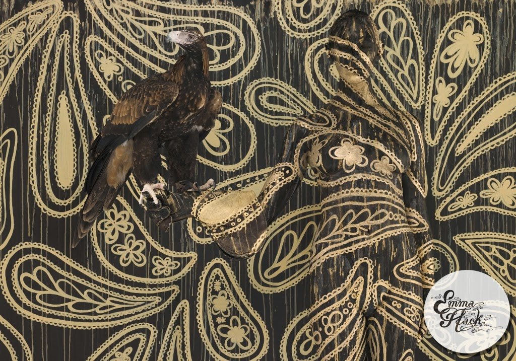 14-Wedge-Tailed-Eagle-In-Paisley-Emma-Hack-Invisible-Body-Painting-www-designstack-co