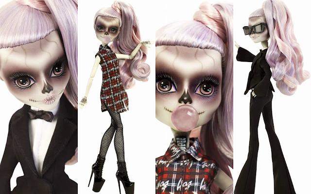 ¡Primer vistazo! Mira la muñeca inspirada en Lady Gaga, creada por Monster High