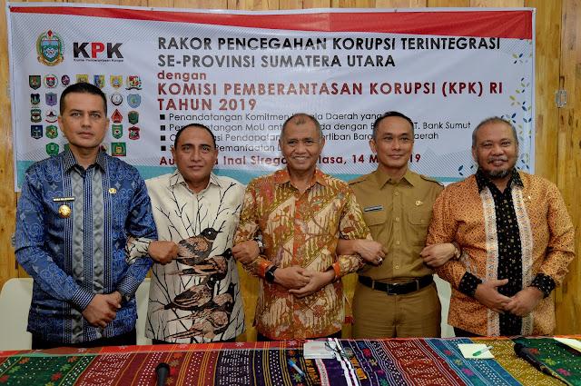 Ketua KPK Agus Rahardjo Sebut MCP Korupsi Pemprov Sumut Capai 72%