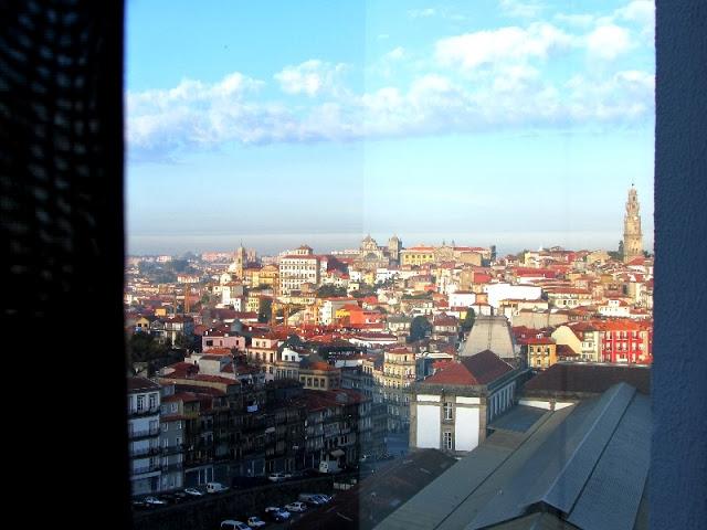 Vista do Hotel Mercure no Porto