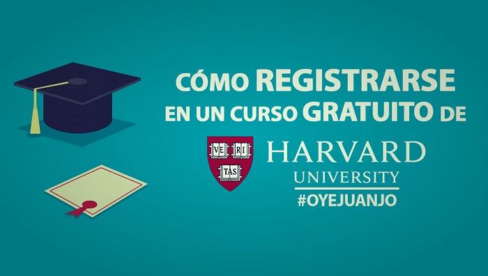 Como Registrarse En Un Curso Gratuito De La Universidad Harvard