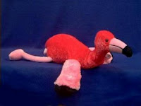 floppy flamingo plush stuffed animal