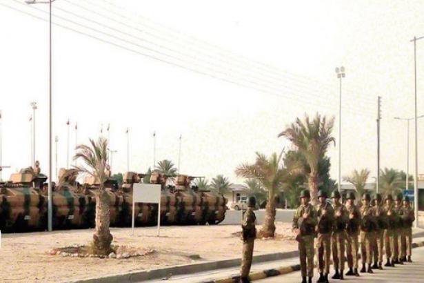 kriz sonrasi katar daki turk askeri ussunden ilk goruntu