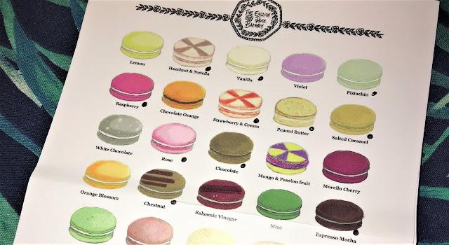 The English Rose Bakery Macarons
