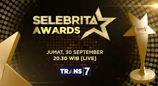 Nominasi Pemenang Selebrita Awards 2016