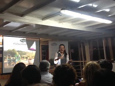 Evento de presentación Aceitunas Fragata