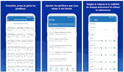 تطبيق MuseScore لقراءة النوته الموسيقية