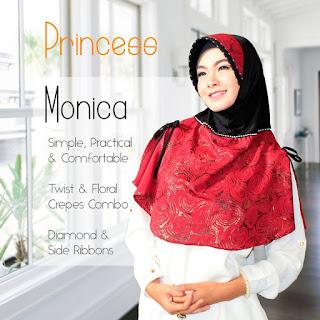 Jilbab Cantik Princess Monica