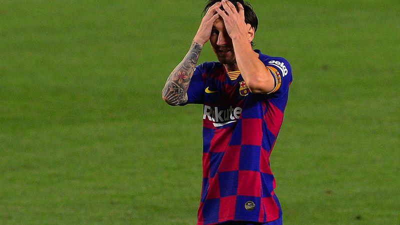 Messi quiere irse del Barcelona