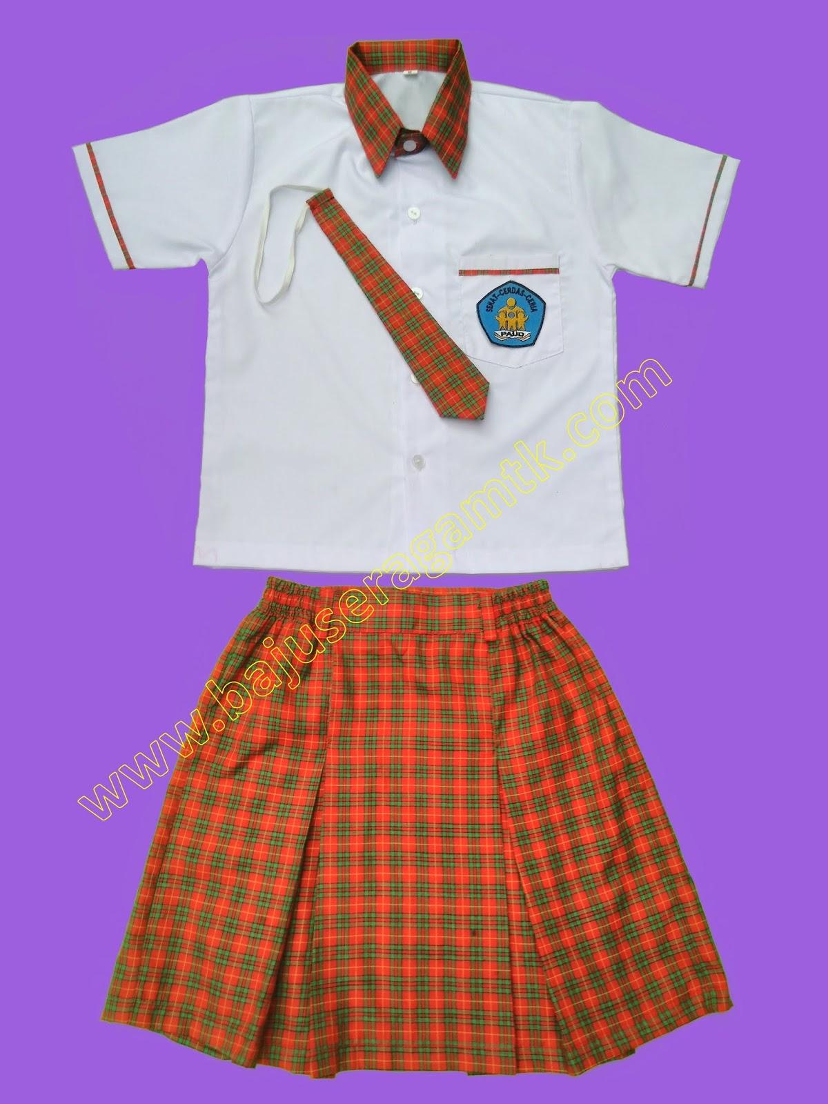 seragam TK PAUD korea