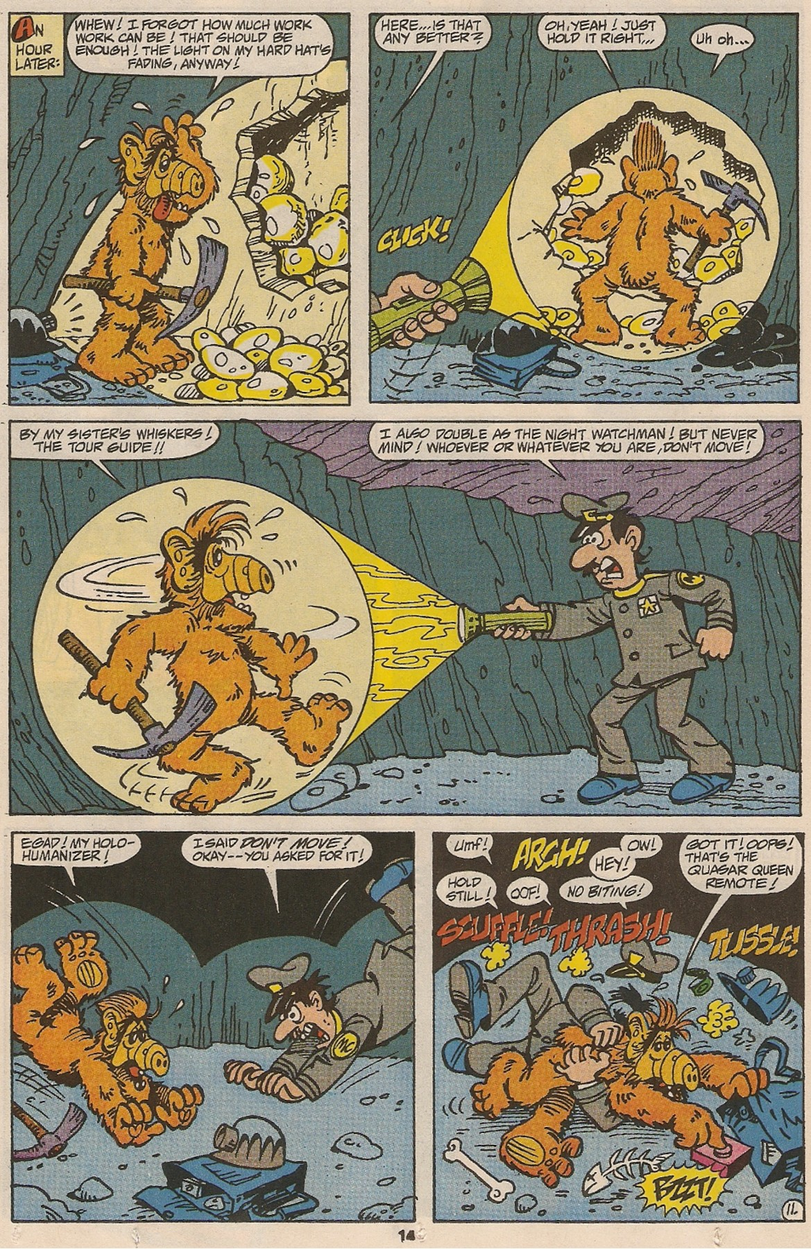 Read online ALF comic -  Issue #47 - 16