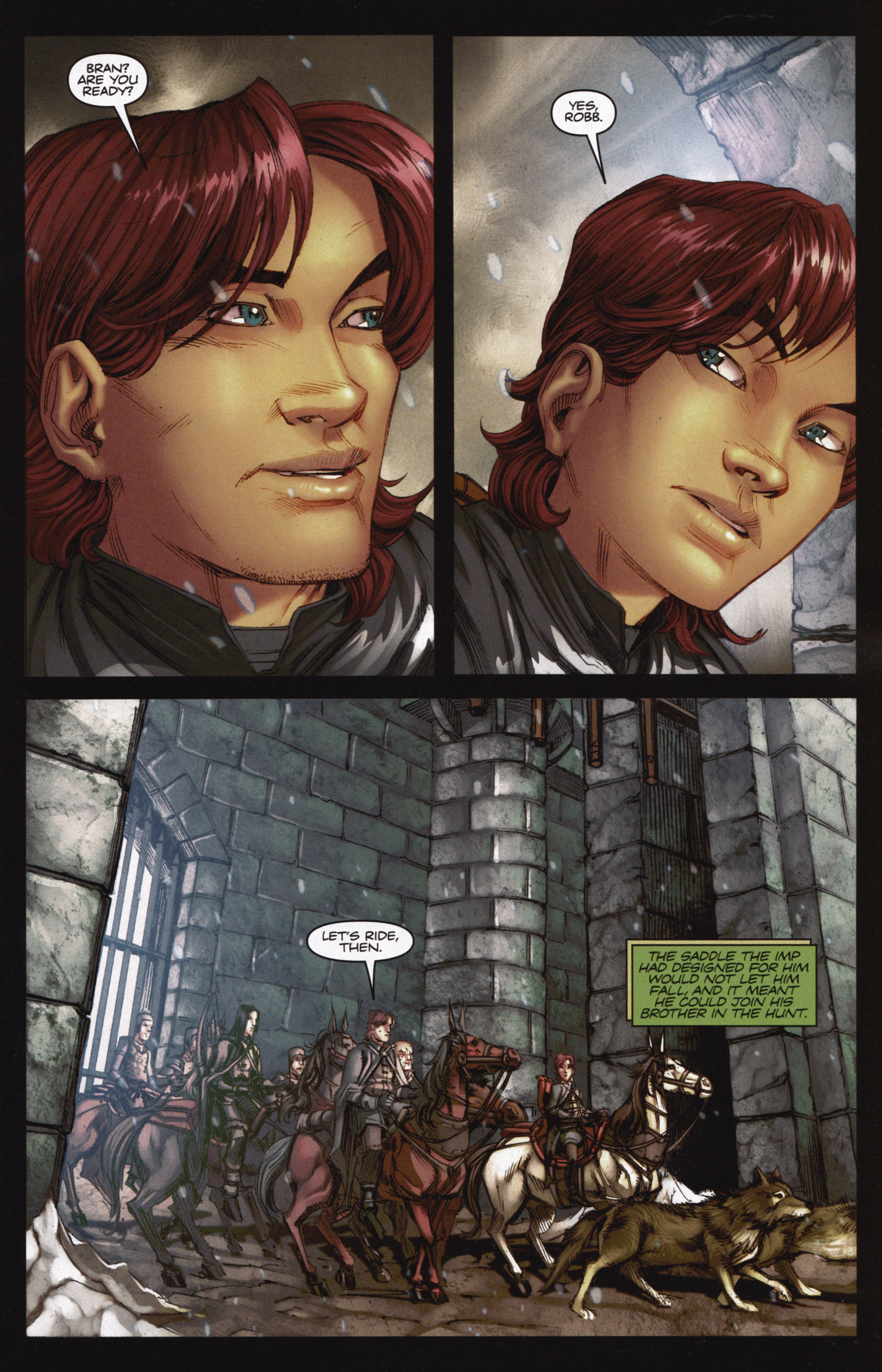 Read online A Game Of Thrones comic -  Issue #12 - 3