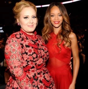 SEE What Adele Has To Say About Hanging Out With Rihanna, Weed And More….