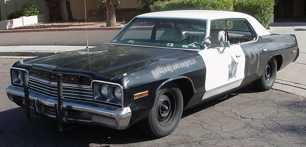 Dodge Monaco for powerful cars from movies