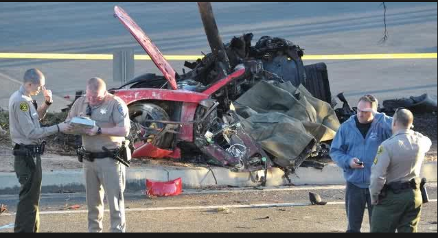 car paul walker was killed in was traveling more than 100 mph at the time of the accident