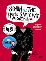 Simon vs. the Homo Sapiens Agenda by Becky Albertalli book cover and review