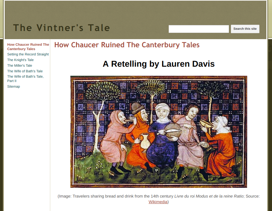 a look at chaucers views on religionthe canterbury tales Geoffrey chaucer wrote the canterbury tales a collection of short tales in the 14th century this story is told by the character of allison whom tells the story of the wife of bath the story and prologue look at the life of allison and her views of how relationships.