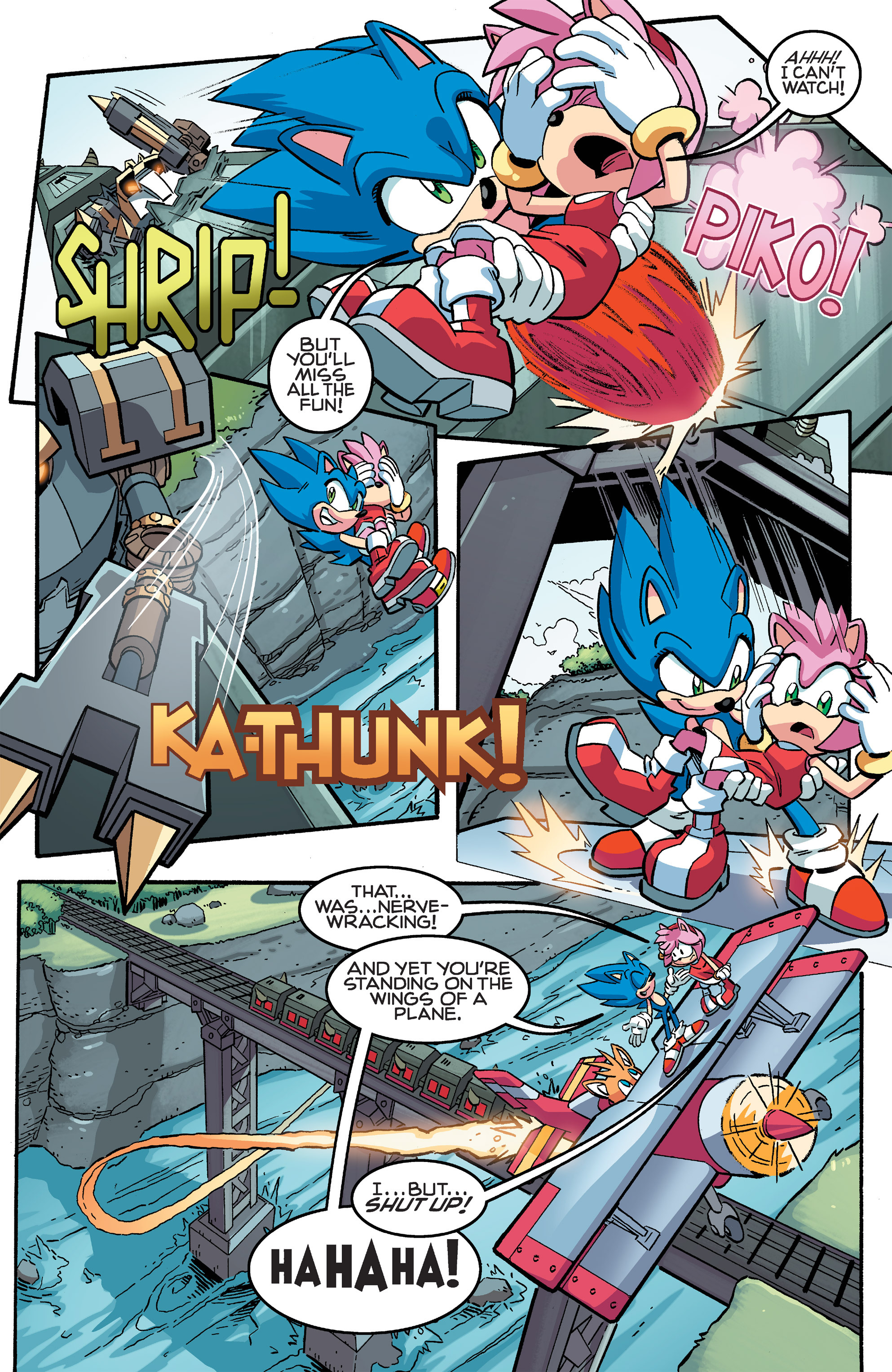 Read online Sonic The Hedgehog comic -  Issue #259 - 12