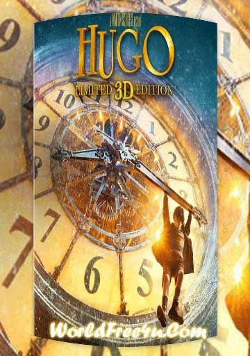 Poster Of Hugo (2011) Full Movie Hindi Dubbed Free Download Watch Online At worldfree4u.com