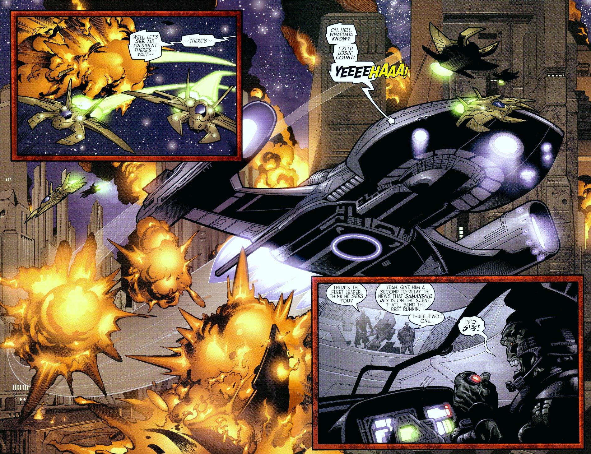 Read online Sigil (2000) comic -  Issue #18 - 4