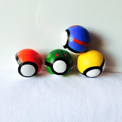 Pokeball handmade