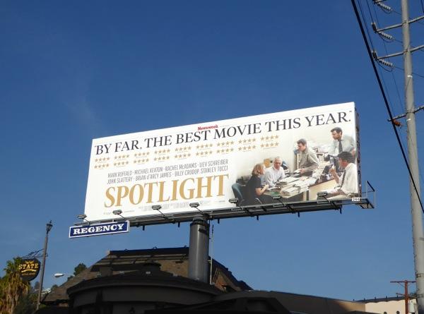 Spotlight Best movie billboard