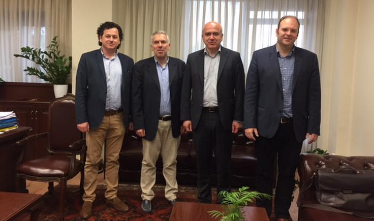 Συνάντηση του Περιφερειάρχη ΑΜ-Θ με το νέο Προεδρείο της Δ.Ε. του ΤΕΕ Θράκης