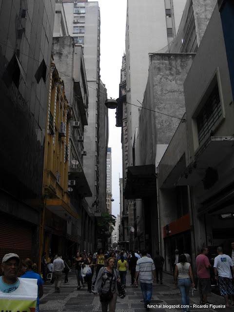 RUA DE SÃO BENTO - SÃO PAULO