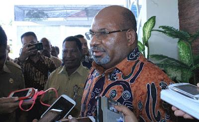 Lukas Enembe Desak Freeport Bayar Pemprov Papua 5 Triliun Lebih