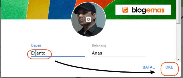 Cara Ganti Nama Semua Akun Google Otomatis