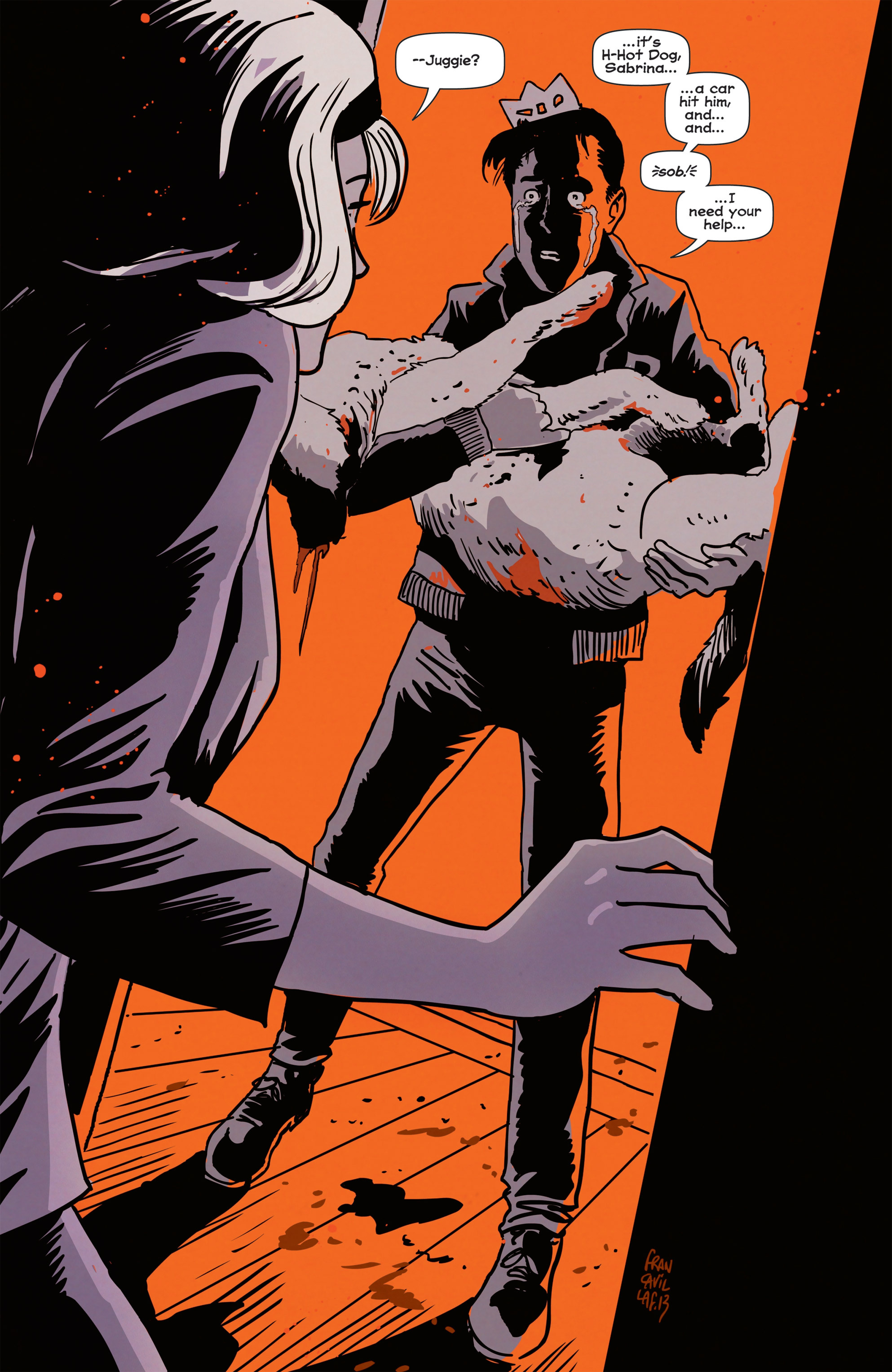 Read online Afterlife with Archie comic -  Issue #1 - 5