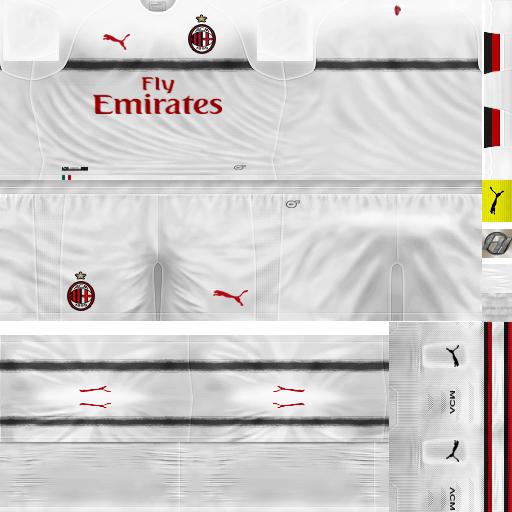 c798b0ddf1d PES 6 Kits AC Milan Season 2018 2019 by FacaA Ngel - PES 6 Update ...