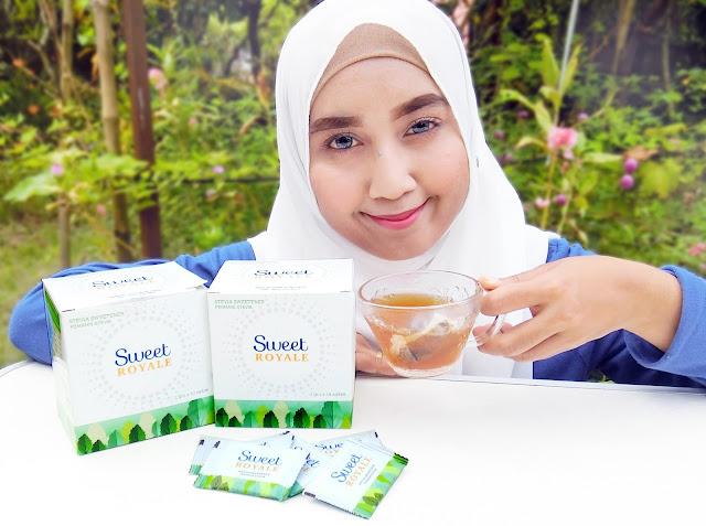 Sweet Royale Stevia Pemanis Semulajadi