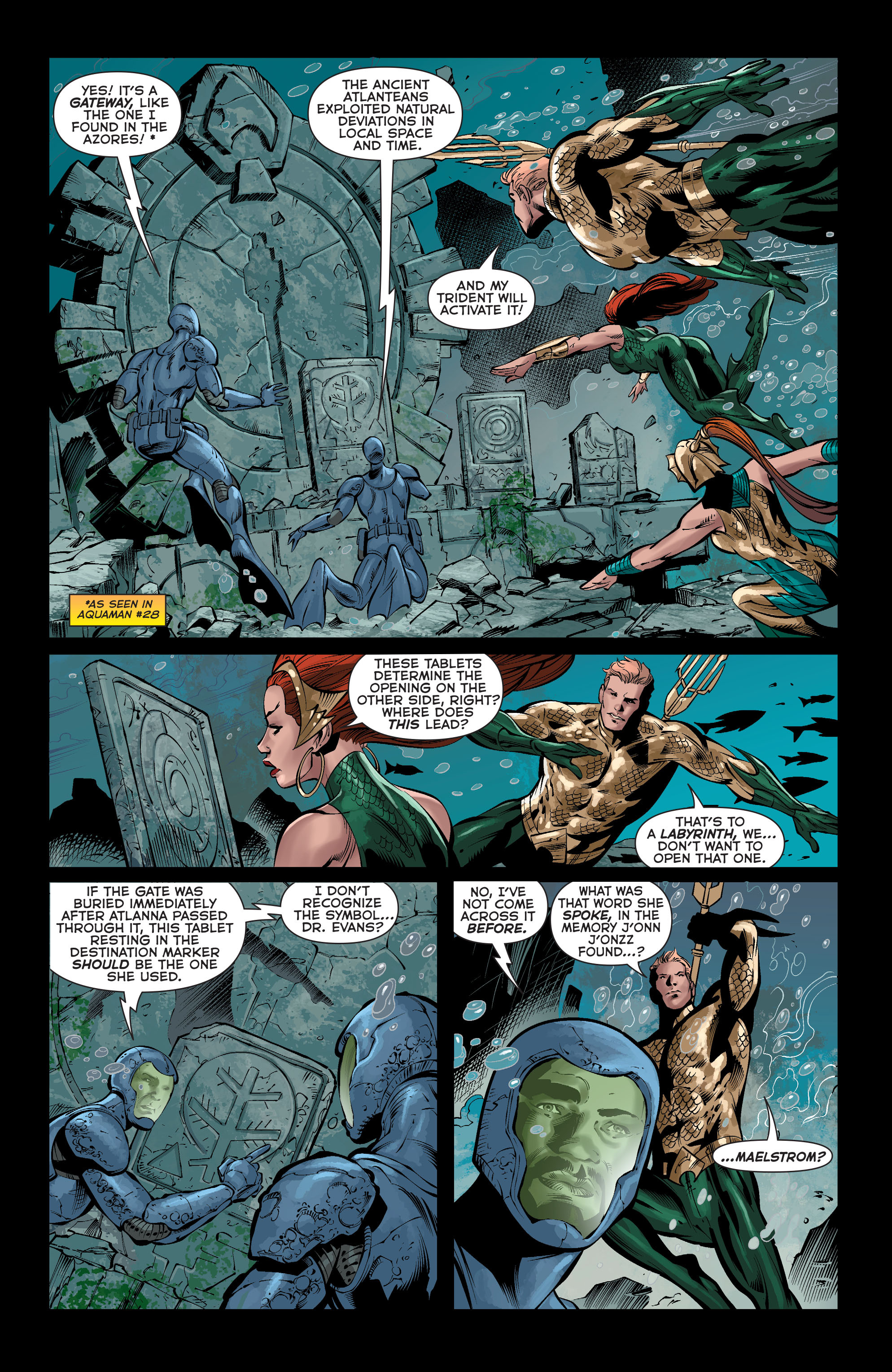 Read online Aquaman (2011) comic -  Issue #37 - 3