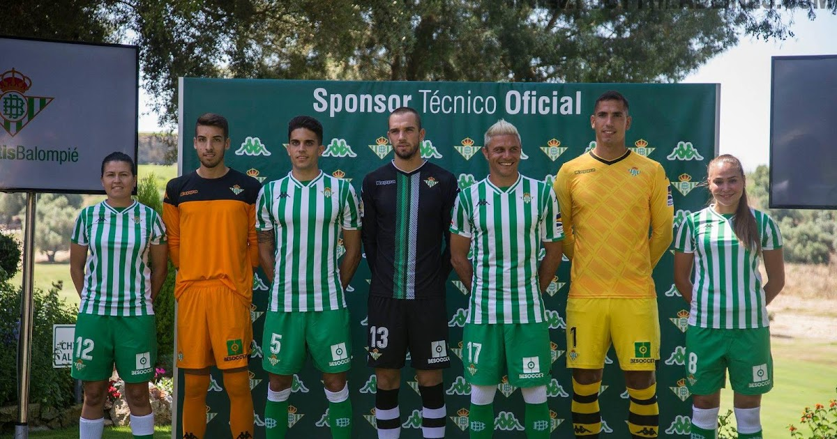 Update Kits Uniformes Leones Fc: Update: Kappa Real Betis 18-19 Home & Goalkeeper Kits