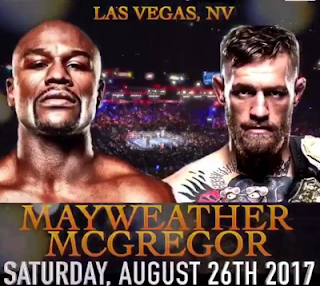 Combate Mayweather vs McGregor apuestas sportium 26 agosto