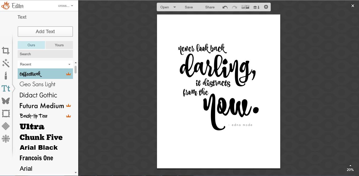 five sixteenths blog: Make it Monday // DIY Glitter Text ...