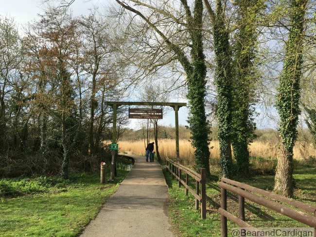 Cosmeston Lakes Country Park and Medieval Village Entrance