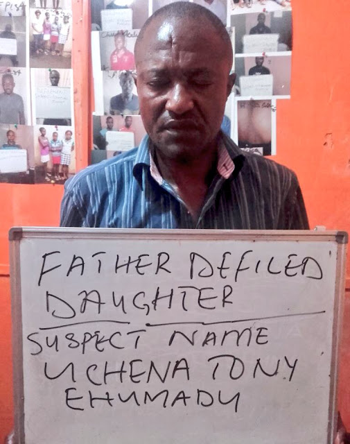 Photos: woman catches husband raping 15yr old daughter .