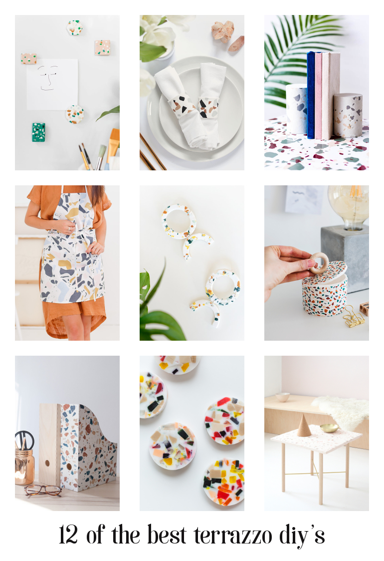 ON MY RADAR – 12 TERRAZZO INSPIRED DIY'S.