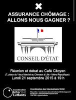 Réunion-débat au Café citoyen - Lundi 21 septembre 2015 à 19h00