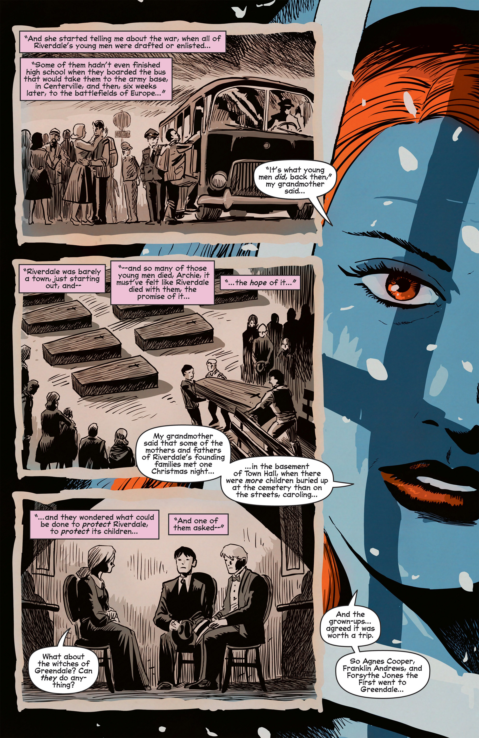 Read online Afterlife with Archie comic -  Issue #8 - 21